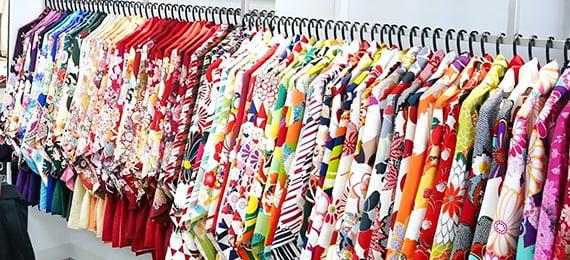 500種類以上の着物&袴