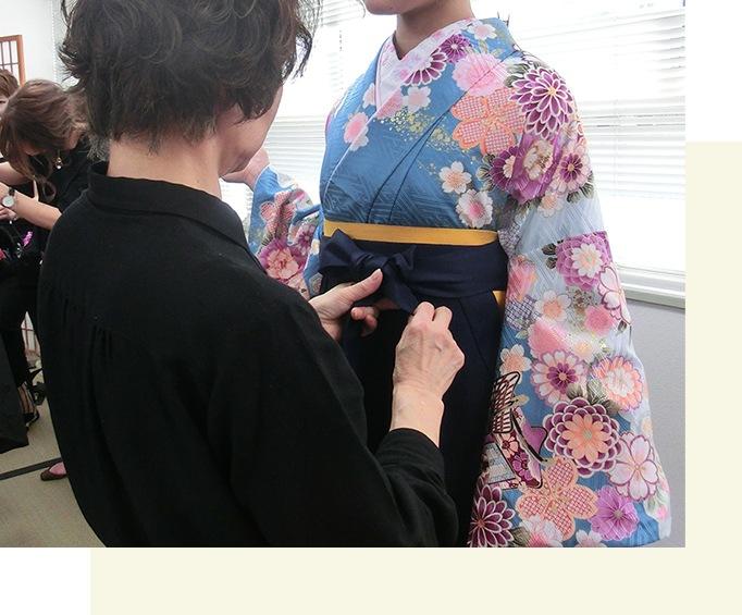 袴を返却する