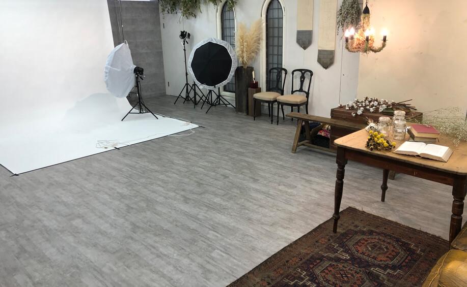 振袖レンタルの前撮りスタジオ