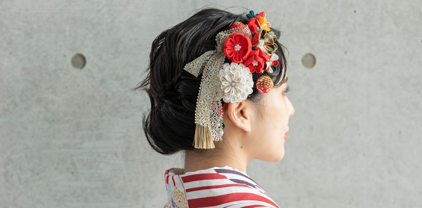 卒業式のレンタル袴に似合う髪飾り
