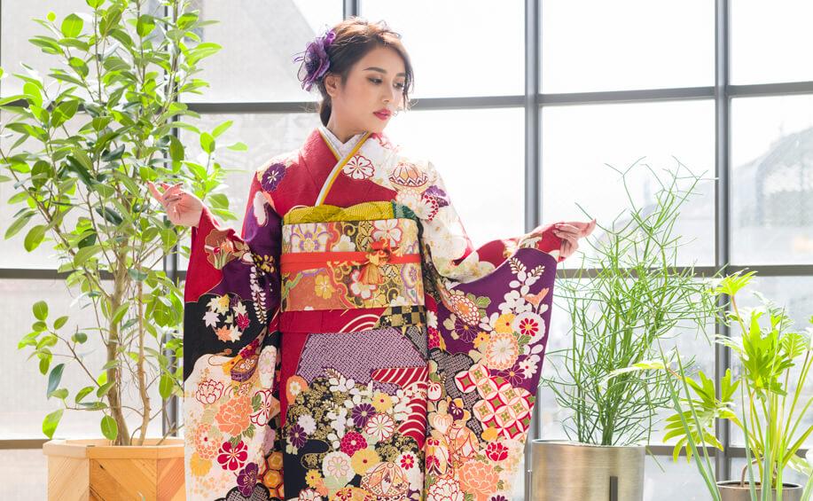 北海道の成人式で人気のレンタル振袖