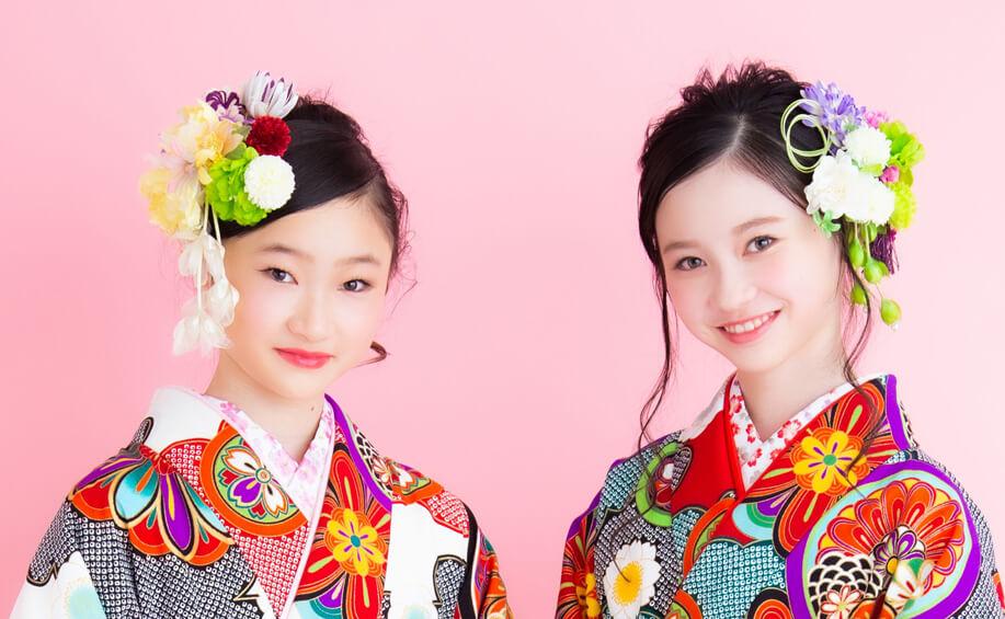 小学生袴の髪型