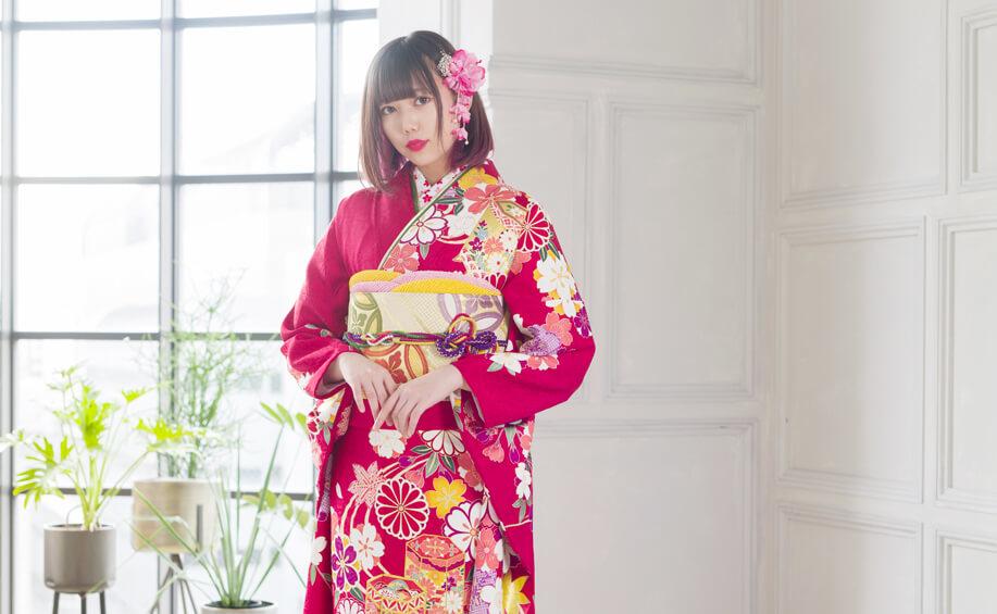 京都で人気の成人式のレンタル振袖